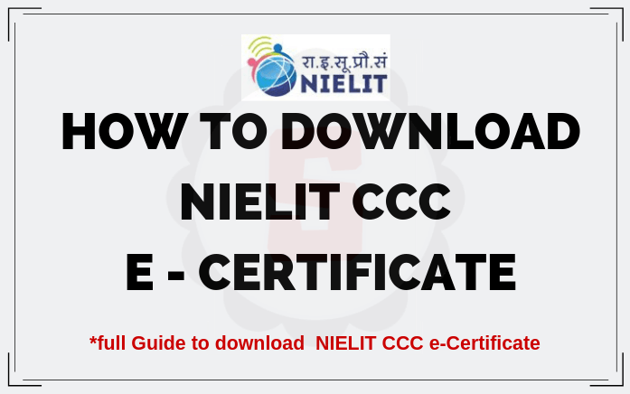 Student NIELIT CCC Online Form Registration, Test, Result, Admit Card, E Certificate Download, Sarkari Result CCC, Guruji24, NIELIT Official Website Student NIELIT in